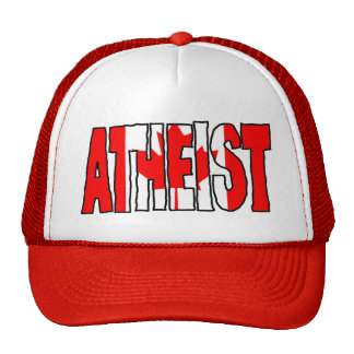 CANADIAN ATHEIST TRUCKER HAT