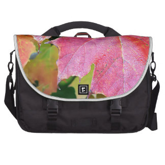 Canadian Autumn Maple Leaves Commuter Bags