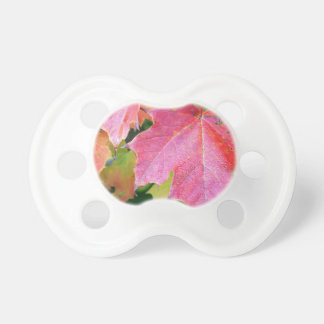 Canadian Autumn Maple Leaves Baby Pacifiers