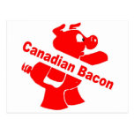 Canadian Bacon Post Card