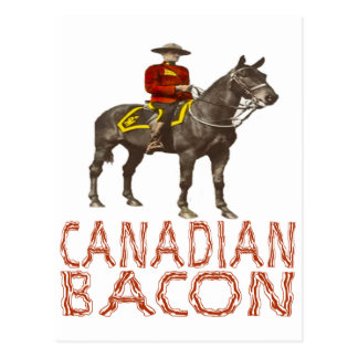 Canadian Bacon Post Cards
