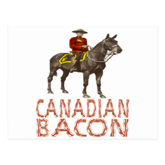 Canadian Bacon Postcard