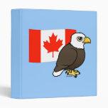 Canadian Bald Eagle Binder