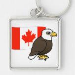Canadian Bald Eagle Key Chains