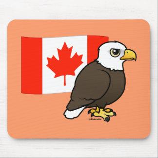 Canadian Bald Eagle Mouse Pad