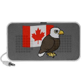 Canadian Bald Eagle Mp3 Speakers