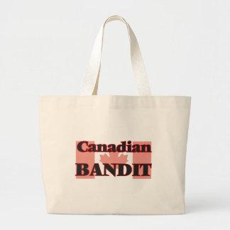 Canadian Bandit Jumbo Tote Bag