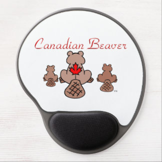 Canadian Beaver Gel Mouse Pad
