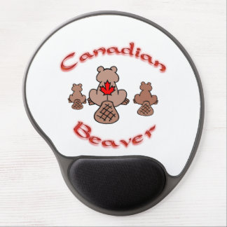 Canadian Beaver Gel Mousepad