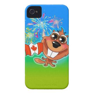 Canadian Beaver iPhone 4 Case