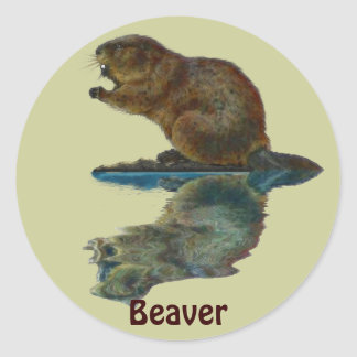 Canadian BEAVER KIDS Gift Stickers