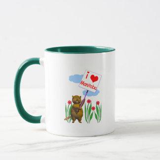 Canadian Beaver Loves Manitoba Mug