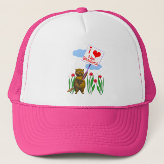 Canadian Beaver Loves New Brunswick Trucker Hat
