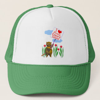 Canadian Beaver Loves Prince Edward Island Trucker Hat