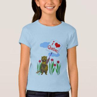 Canadian Beaver Loves Quebec T-Shirt