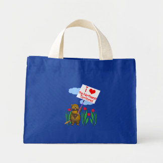 Canadian Beaver Loves the Northwest Territories Bags