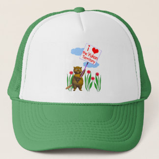 Canadian Beaver Loves the Yukon Trucker Hat
