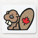 Canadian Beaver Mouse Pad
