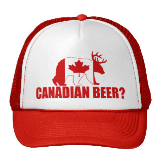 Canadian Beer?  Bear With Antlers Hat