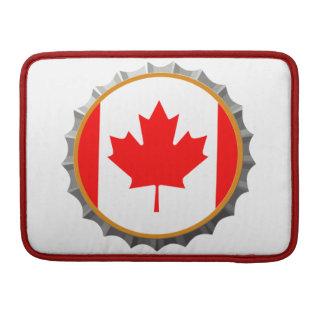 Canadian beer cap Macbook sleeve MacBook Pro Sleeves