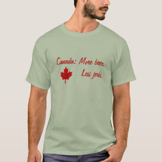 Canadian Beer T-Shirt