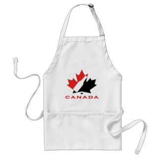 Canadian Beer Team Adult Apron