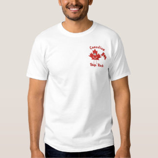 Canadian Boys Rock Embroidered T-Shirt