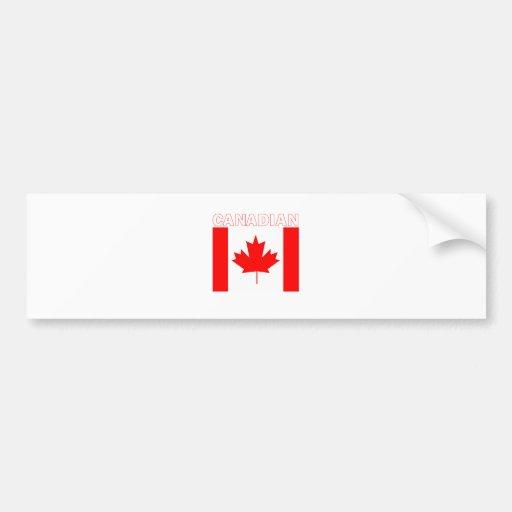 Canadian Bumper Sticker