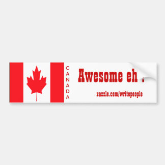 canadian bumper stickers