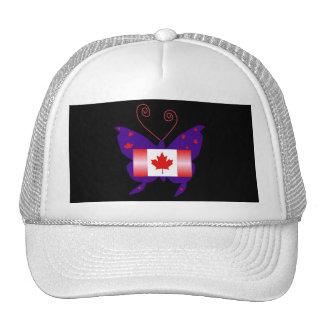 Canadian Butterfly Diva Trucker Hat