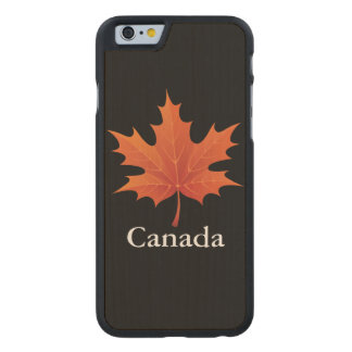 Canadian Carved Maple iPhone 6 Slim Case