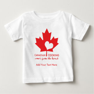 Canadian Chef Baby T-Shirt
