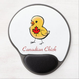 Canadian Chick Gel Mouse Pad