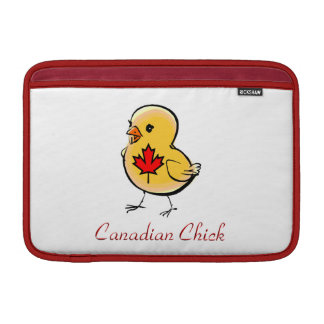 Canadian Chick MacBook Sleeve