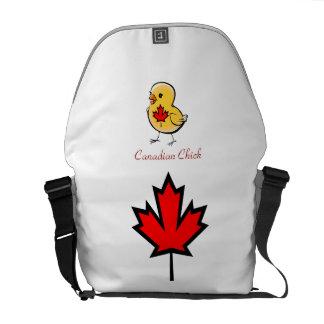 Canadian Chick Messenger Bag