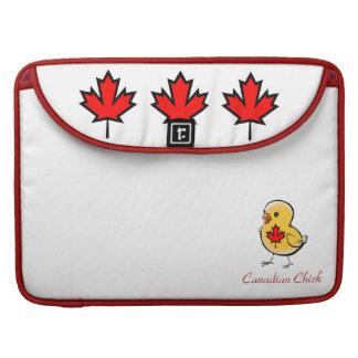 Canadian Chick Sleeve For MacBooks
