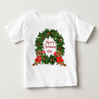 Canadian Christmas Baby T-Shirt