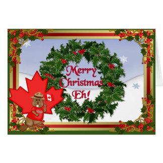 Canadian Christmas Card