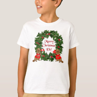 Canadian Christmas T-Shirt