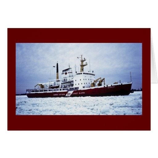 Canadian Coast Guard / Garde côtière canadienne Card