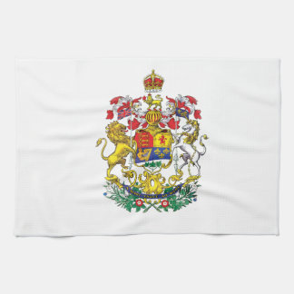 Canadian Coat of Arms Kitchen Towel