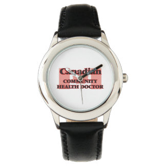 Canadian Community Health Doctor Wristwatches