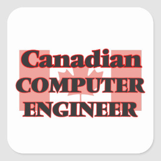 Canadian Computer Engineer Square Sticker