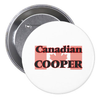 Canadian Cooper 3 Inch Round Button