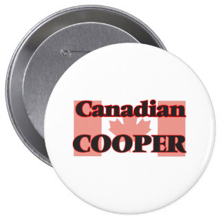 Canadian Cooper 4 Inch Round Button