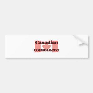 Canadian Cosmologist Car Bumper Sticker