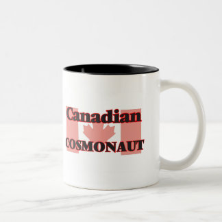 Canadian Cosmonaut Two-Tone Coffee Mug