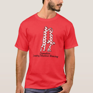 CANADIAN COUNTRY WESTERN DANCING CANADA T-Shirt
