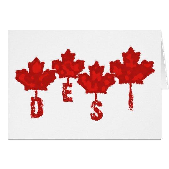 Canadian Desi Card