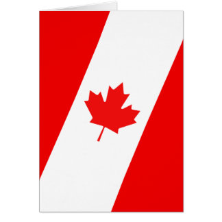 Canadian Design Greeting Card